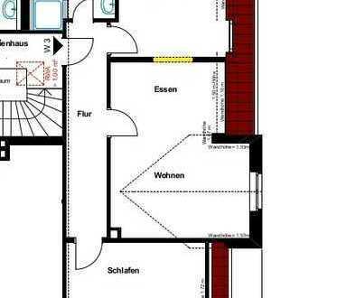 Vermietung - Moderne, gemütliche 2-Zimmerwohnung im Dachgeschoss in Borken, Marktplatznähe