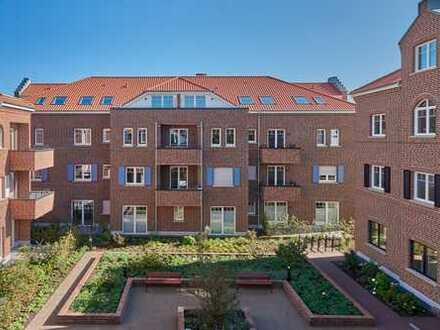 """Gehobene, helle und charmante 3-Zimmer-Wohnung in den neuen """"Stadthöfen am Rheder Bach"""""""