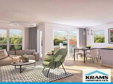 Sonne Genießen! Großzügige 3-Zimmer-Neubauwohnung in Sickenhausen mit Süd-Balkon