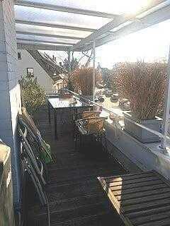 Exklusive, gepflegte 2,5-Zimmer-Penthouse-Wohnung mit Balkon und Einbauküche in Heidelberg