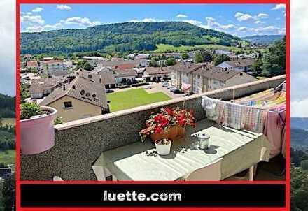4-Zimmer-ETW, Blick, Lift, Vollwärmeschutz, Fenster - Heizung – Balkon erneuert, zentral, Nähe Ei...