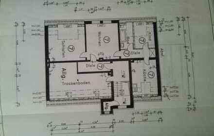 Preiswerte, vollständig renovierte 3-Zimmer-DG-Wohnung zur Miete in Bochum-Hordel