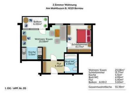 2 - Raumwohnung mit Einbauküche und Tiefgaragenstellplatz
