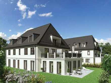 Lifestyle am Perlacher Forst! Moderne 4-Zimmer-Wohnung mit Privatgarten in West-Ausrichtung!