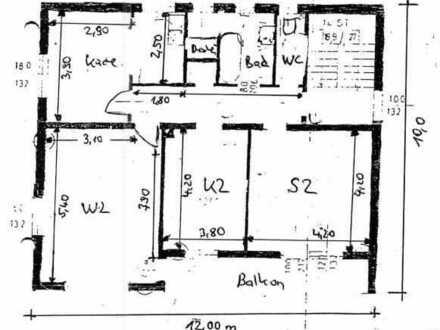 Ansprechende, gepflegte 3-Zimmer-Wohnung zur Miete in Schwabmünchen