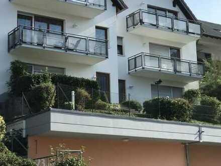 Helle 2 Zimmer Terrassenwohnung mit super Aussicht - TG vorhanden