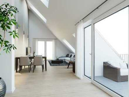 Exklusiver Dachterrassentraum auf 2 Ebenen