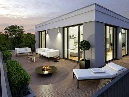 Neubauprojekt: Luxuriöses Penthouse mit riesiger Dachterrasse und Weitblick
