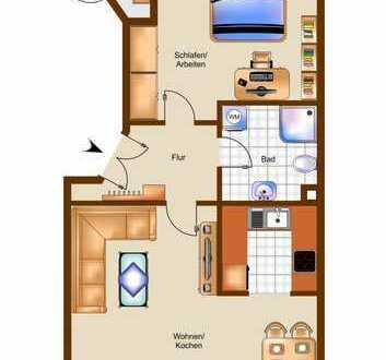 Kapitalanlage mit 5,2 % Rendite, Moderne, möblierte Wohnung mit Einbauküche & Stellplatz auf dem Hof