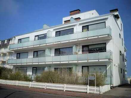 Strandnahe 3-Zimmer-Wohnung mit großer Südterrasse