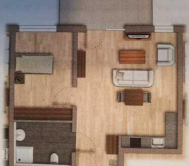 Stilvolle, neuwertige 2-Zimmer- Senioren - Wohnung mit Balkon und EBK in Ludwigshafen am Rhein