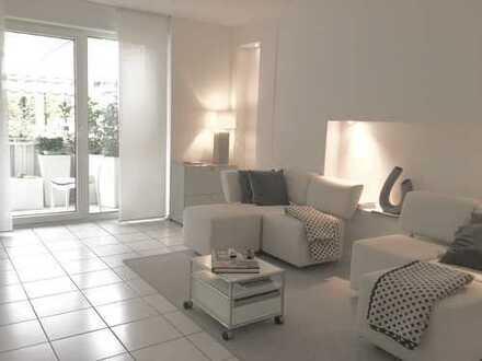 Stilvolle, modernisierte 2-Zimmer-Wohnung mit Balkon und EBK in Mannheim