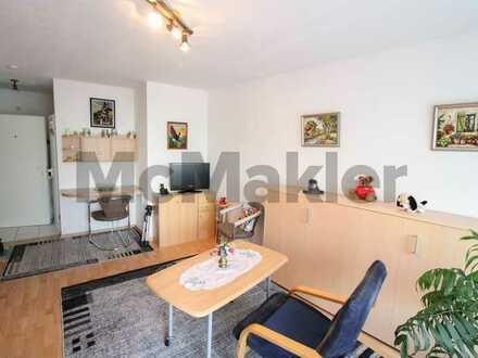Attraktives Renditeobjekt: Unbefristet vermietetes 1-Zi.-Apartment mit Südbalkon