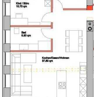 TOP Wohnung, Freyung, Zentrum, 3 Zimmer, 88,6 qm