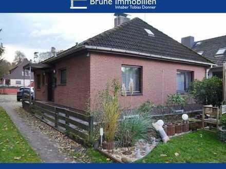 BRUNE IMMOBILIEN - Geestland-Drangstedt: Klassischer 70er-Jahre Bungalow