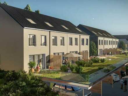 **Schönes 143 m² großes Reiheneckhaus als Eigenheim mit lichtdurchflutenten Räumen in ruhiger Lage**