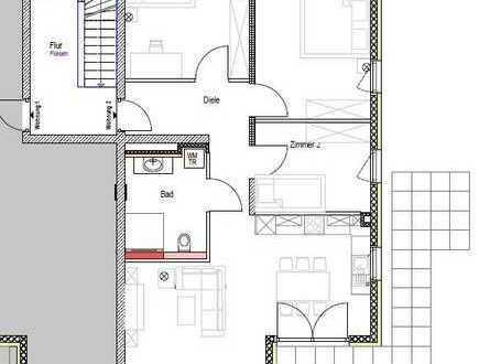 Barrierefreies Wohnen! 4,5.-Wohnung im EG mit großer Gartenterrasse inkl. TG und Küche