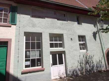 Ehem. Werkstatt- und Gebäudefläche zentral gelegen in der Altstadt von Ladenburg