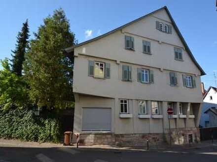 4,5-Zimmer-Wohnung mit Garten im Ortskern von Stuttgart-Hedelfingen