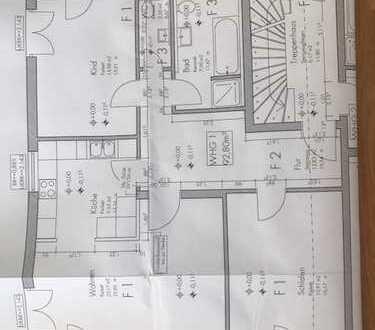 Exklusive, neuwertige 3-Zimmer-EG-Wohnung mit Balkon in Bad Aibling
