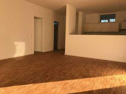 2-Raum-Etagen-Wohnung mit großem Balkon und Einbauküche auf der Südhöhe! Erstbezug!