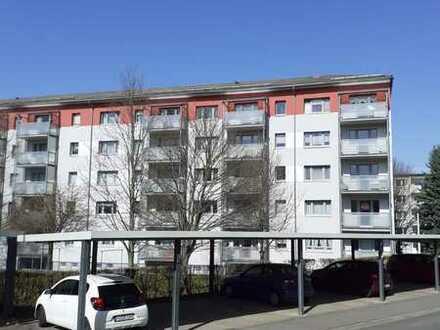 Schöne 1-Zimmer Wohnung mit Balkon in Dr.-W.-Külz-Str. 60, BED, zu vermieten!