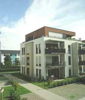 3-ZKBB-Neubau-Wohnung mit EBK, Parkett, Balkon & PKW-Platz!