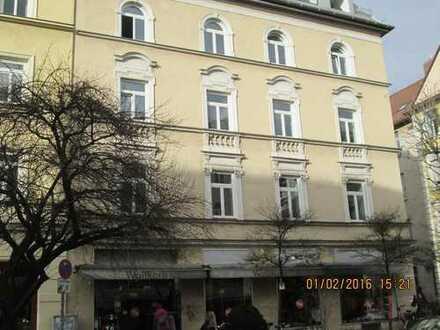 4 Zimmer Dachgeschosswohnung Neuhausen-Nymphenburg