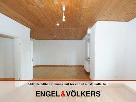Stilvolle Altbauwohnung mit bis zu 170 m² Wohnfläche