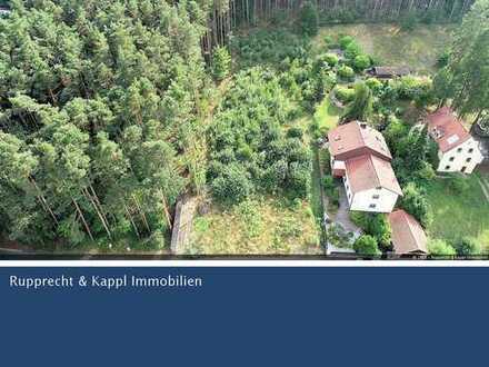 Großes Baugrundstück - Erschlossen mit atemberaubender Aussicht in Schwandorf