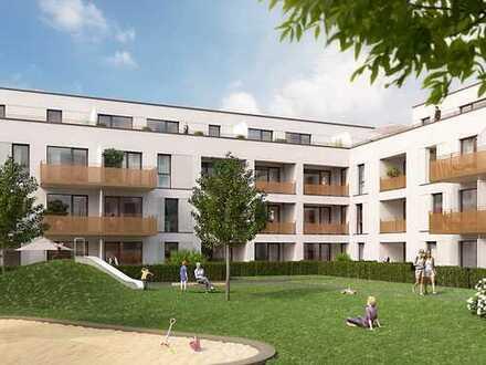 PANDION VILLE - Herrliche 3-Zimmer-Erdgeschosswohnung mit sonniger Terrasse und Garten
