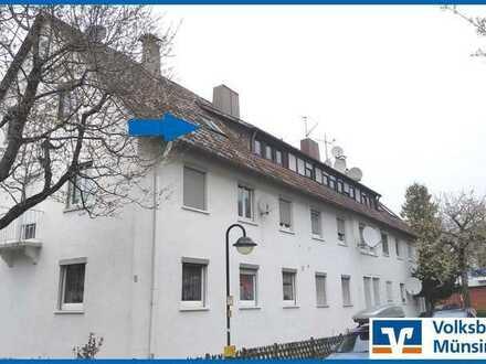 Gemütliche 3-Zimmer Dachgeschosswohnung in Unterhausen