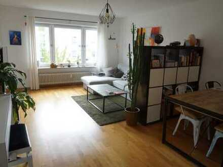 Zur Zwischenmiete Nov., Dez., Jan.: Vollmöblierte 2-Zimmer-Wohnung in Milbertshofen
