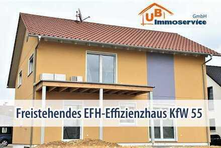 Hochwertiges EFH-Niedrigenergiehaus sucht eine naturverbundene Familie!