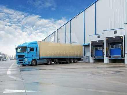 Logistik - Lager - Produktion - 1 A Verkehrsanbindung - (Beispielfoto)