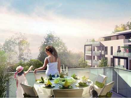WOHNEN AM PARK - Eigentumswohnung in Südwestausrichtung und großer Sonnenterrasse!