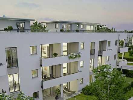 Neubau - Exclusive 3 Zimmerwohnung im 2.OG mit großer Dachterasse