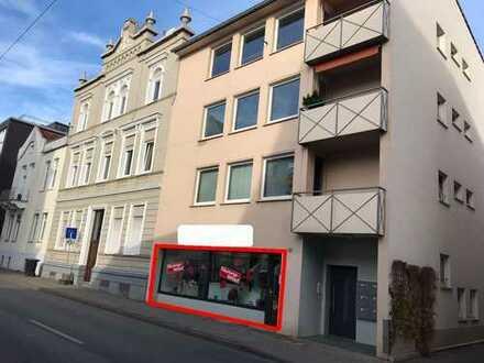 Zur Selbstnutzung oder als Kapitalanlage! Gewerbefläche mit Schaufenster, Nähe Rathaus!