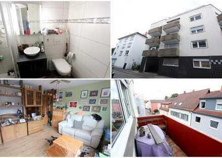 KAPITALANLAGE oder EIGENNUTZUNG - Schön geschnittene Einzimmer-Wohnung mit Balkon - zentral gelegen