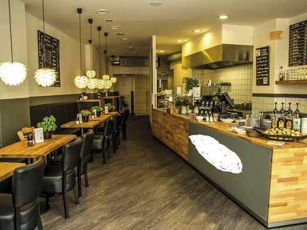 Moderne Gastro-Flächen im Herzen der Stadt- Top Zustand, mit Außenplätzen