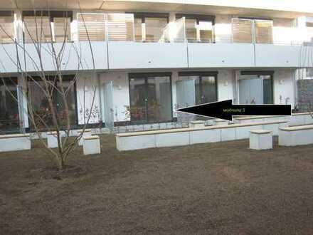 Neuwertige 1-Zimmer-EG-Wohnung mit Süd-Terrasse nur an Studenten oder Auszubildende