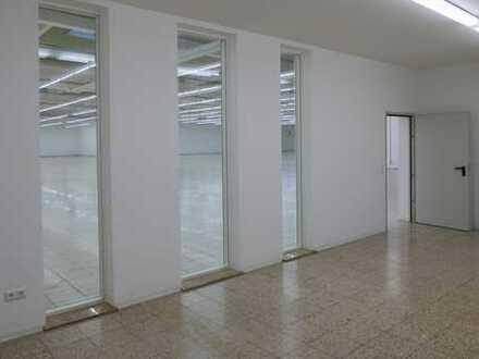 Befahrbare Halle für Produktion und Lager, inkl. Büroflächen - für Schwerlastverkehr geeignet