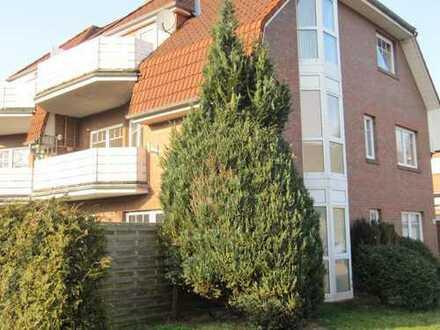 Lichtdurchflutete 3-Zimmer-Wohnung mit großem Balkon und EBK in Aurich