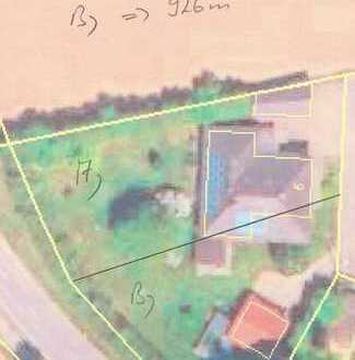 995 qm - Ortsrandlage - Wohnbaugrundstück A) für EFH