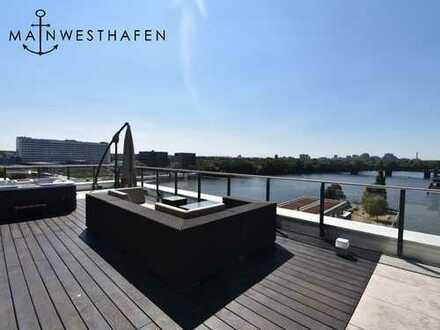 Einzigartiges Penthouse auf der Westhafenmole