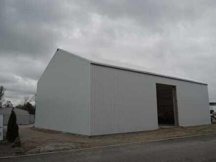Gelegenheit-Neubau einer Gewerbehalle direkt neben der A 94