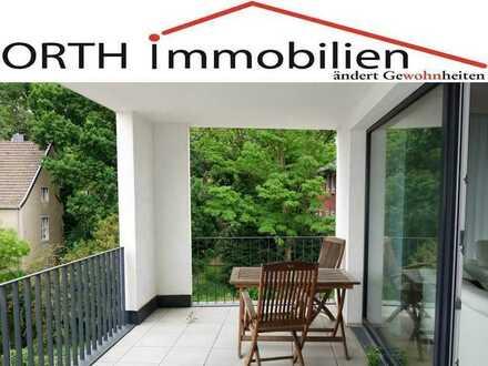 Moderne 4 Zimmer Wohnung in Neubau mit 2 Sonnenterrassen, EBK und Fernblick