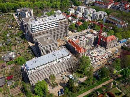 Einzigartige Architektur: Stilvolle 4-Zi.-Whg mit 2 Bädern und Süd-Balkon in Mainz neuer Stadtoase