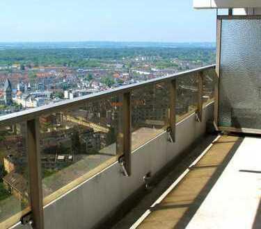 Ganz oben, dem Himmel so nah: perfekt geschnittene 3-Raum-Wohnung mit Westbalkon und TG-Stellplatz