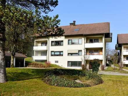Großzügige 2-Zimmer-Wohnung mit Gartenterrasse in stadtnaher Wohnlage von Bad Waldsee.